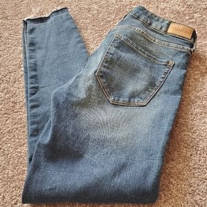 Aeropostale Ankle Jeggings with Raw Hems